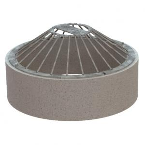 Top Mount Cone Grate